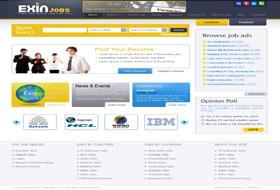 Job Portal, Job site design, Recruitment company website: